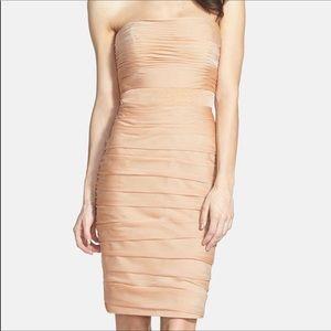 Monique Lhuillier Ruched dress size 0